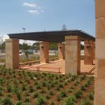 img-30mm Helidon Sandstone Columns Smooth