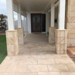 img-30mm Sandstone Light Brown Cladding With Chamfers