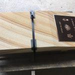 img-Australian Sandstone Memorial Plinth With Desk & Brass Plaque Recessed