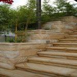 img-Australian Sandstone Stairs And Planter Box