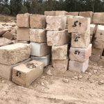 B+ Grade Helidon Sandstone Blocks