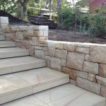 img-Ballast Sandstone Wall With Stairs