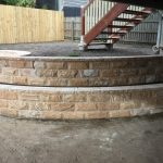 img-Curved Rockface Wall With Capping