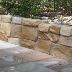 img-Gold Sandstone Ballast Wall