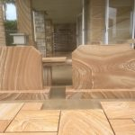 img-Headstone-Sandstone-760 X 600 X 75mm-With-100mm-Base
