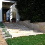 img-Helidon Sandstone Stair Case With Rockface Edges