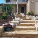 img-Landscape Staircase With Australian Sandstone