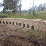 img-Mini Train Bridge With Arches Sandstone