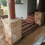 img-Rockface Cladding Columns With Capping