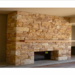 img-Rubble Sandstone Fireplace