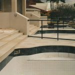 img-Sandstone 30mm Pool Coping And Stairs