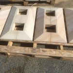 img-Sandstone Capping Cut Around Posts