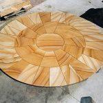 img-Sandstone Circle Cut To Radius