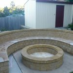 img-Sandstone Curved Seat 30mm Bullnosed