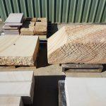 Sandstone Memorial Block With Desk & 200mm Base