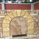 img-Sandstone Pnd Cladding With Arch