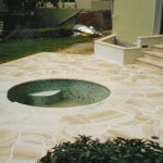 img-Sandstone Pool Coping And Crazy Pave Surrounds
