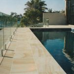 img-Sandstone Pool Coping With Pencil Round Edge