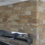 img-Sandstone Random Fireplace Ballast
