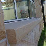 img-Sandstone Rock-face With Sandstone Window Plinth