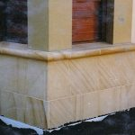 img-Sandstone Smooth Column Cladding On Concrete