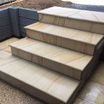 img-Sandstone Stair Cladding In 1 Piece