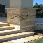 img-Sandstone Stairs Built With Column