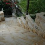 img-Sandstone Stairs Top View