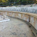 img-Split Sandstone Firepit Cladding
