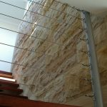 Yellow Rock Face Staircase